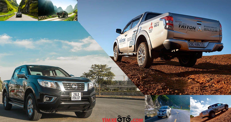 Nissan NP300 Navara EL đối đầu Mitsubishi Triton