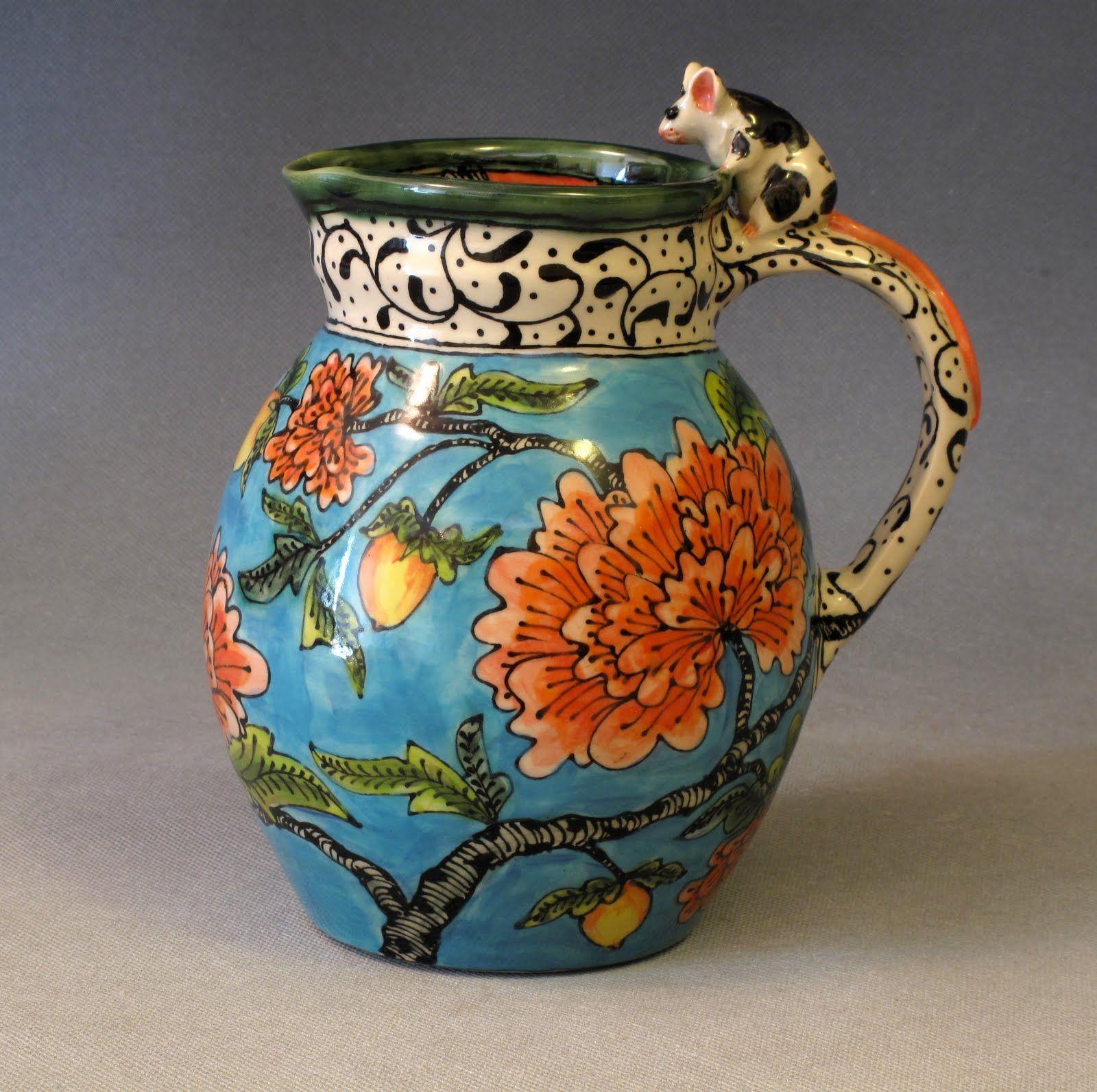 mouse jug, 18 x 18 cm