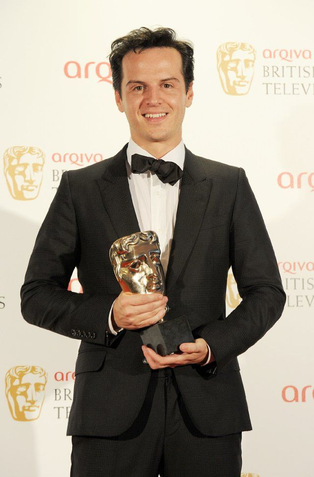 Andrew Scott with a BAFTA! When the hell did this happen?! So deserved.