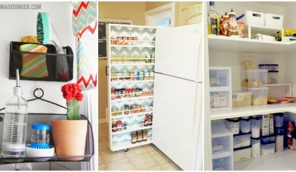Clever Diy Storage Ideas For The Kitchen Kitchen Remodeling