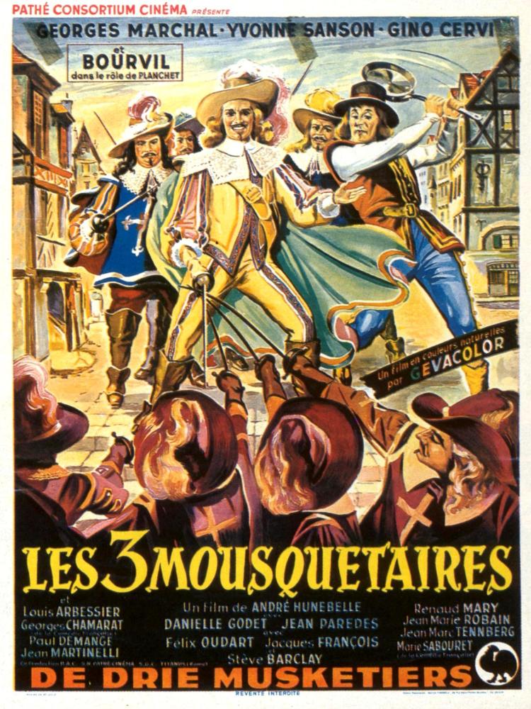 MOUSQUETAIRES TÉLÉCHARGER LES 1953 3