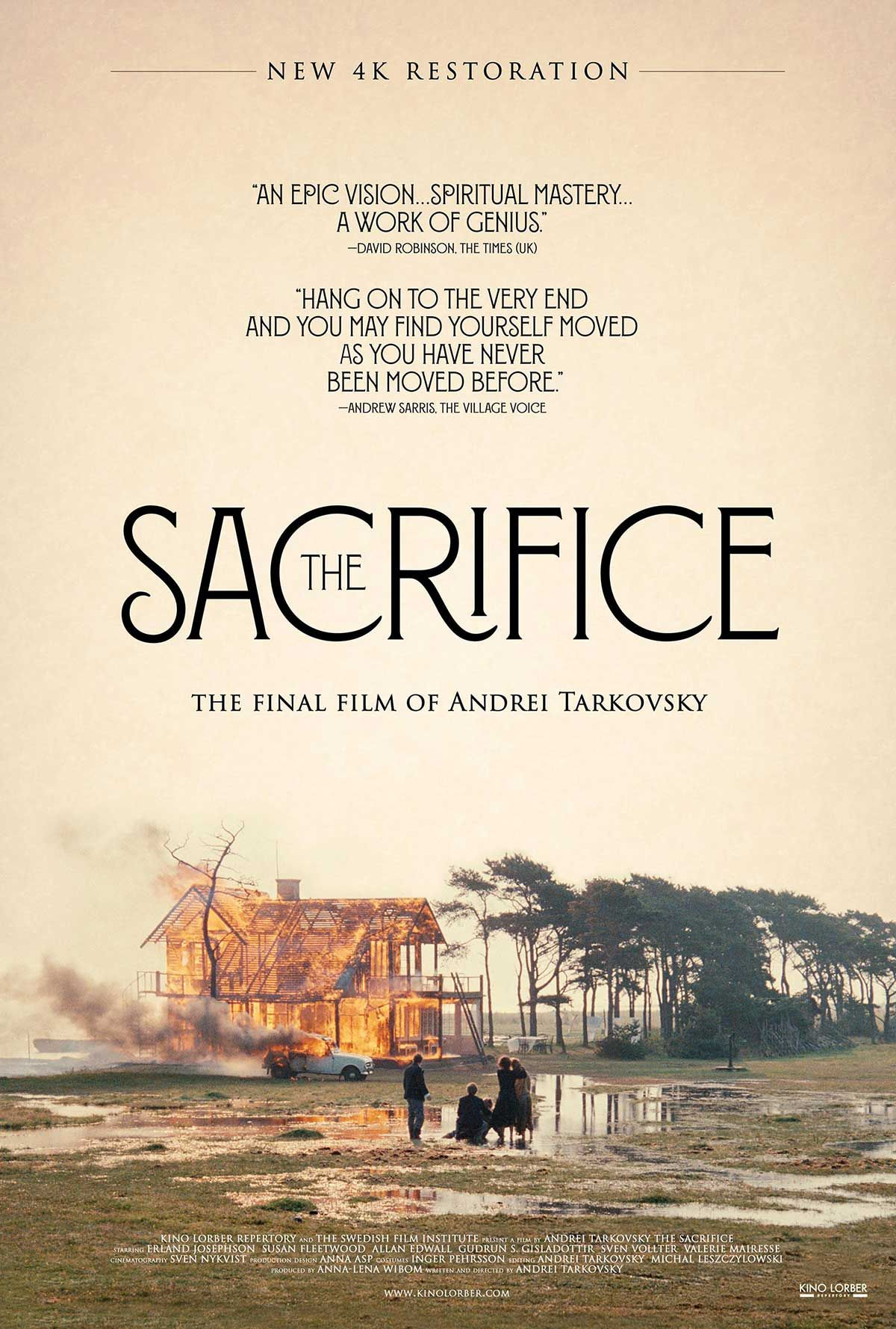 The Sacrifice Poster | Iconic Movies | Pinterest | Cinema, Movie and ...