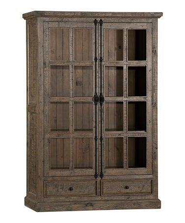 Best Aged Gray Double Door Cabinet Zulily Zulilyfinds 400 x 300