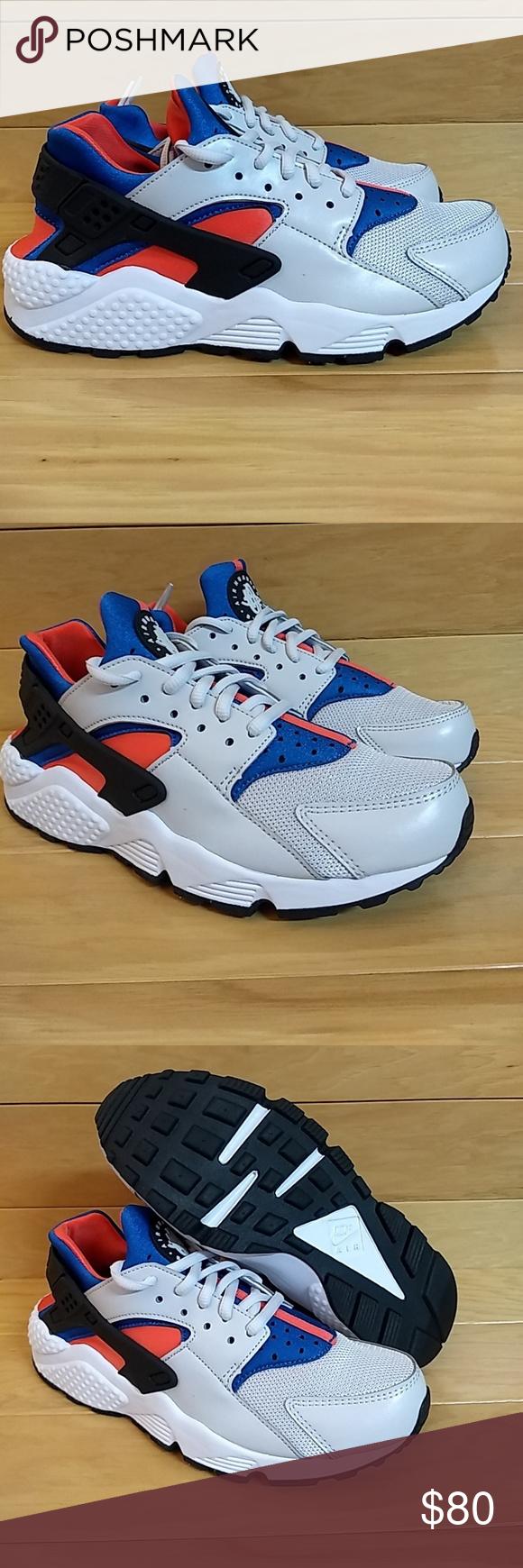 1108d97e43c6 Nike Air Huarache Run Grey Black Coral Wmns Shoe Item  Nike Wmns Air  Huarache Run Code  634835-031 Official Colorway  Vast Grey Black-…