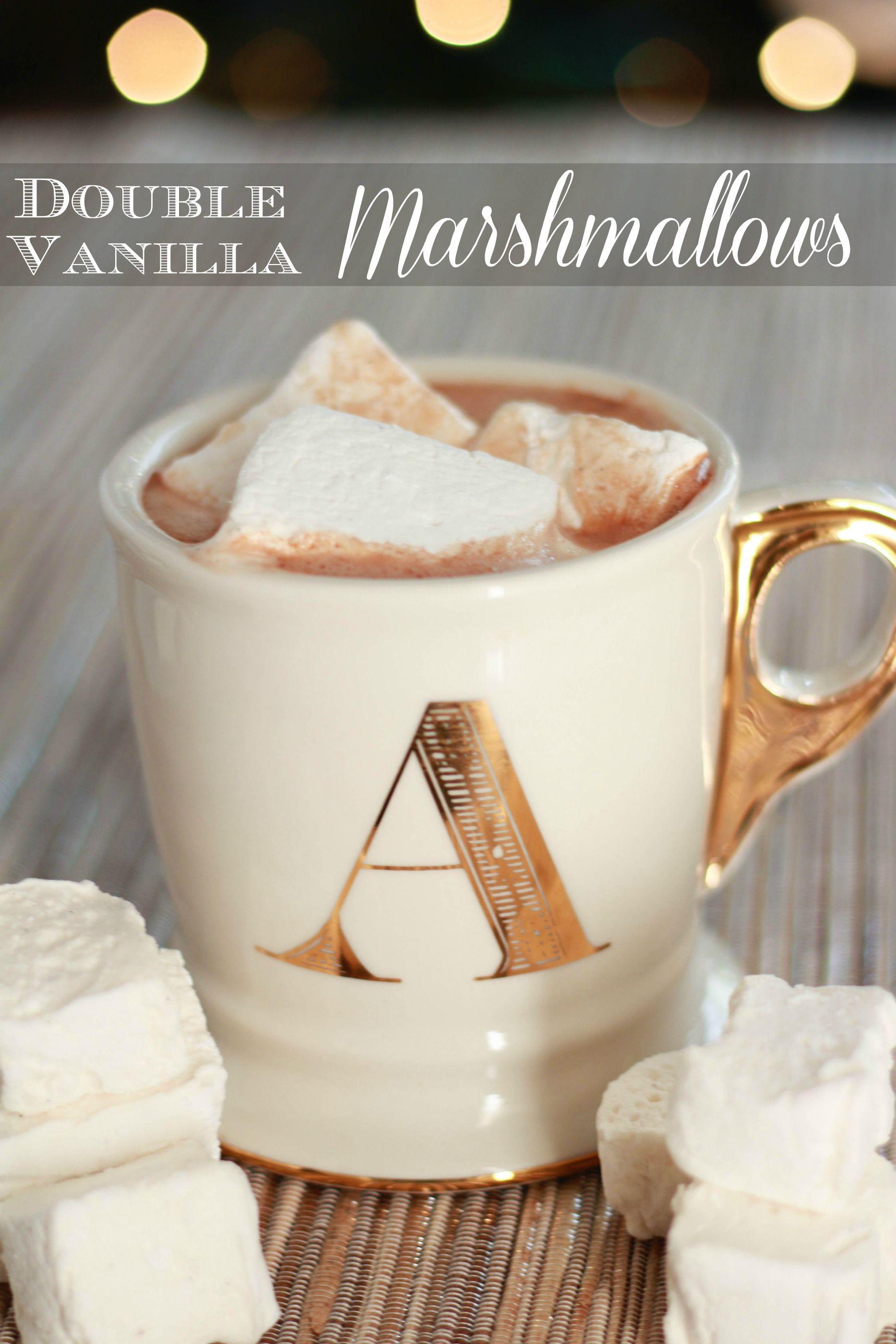 Double Vanilla Marshmallows