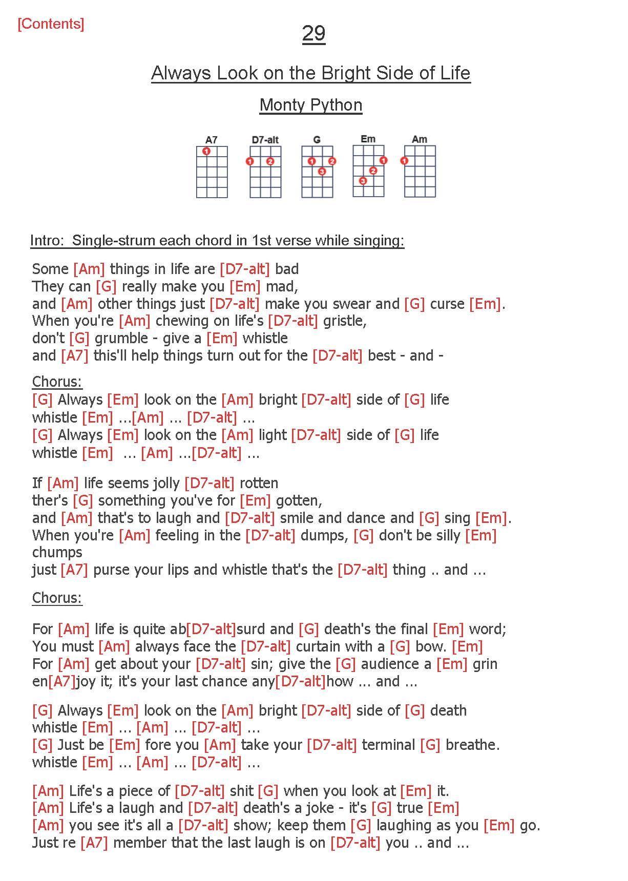 Pin By Ed On Music Ukulele Chords Songs Music Manuscript Monty