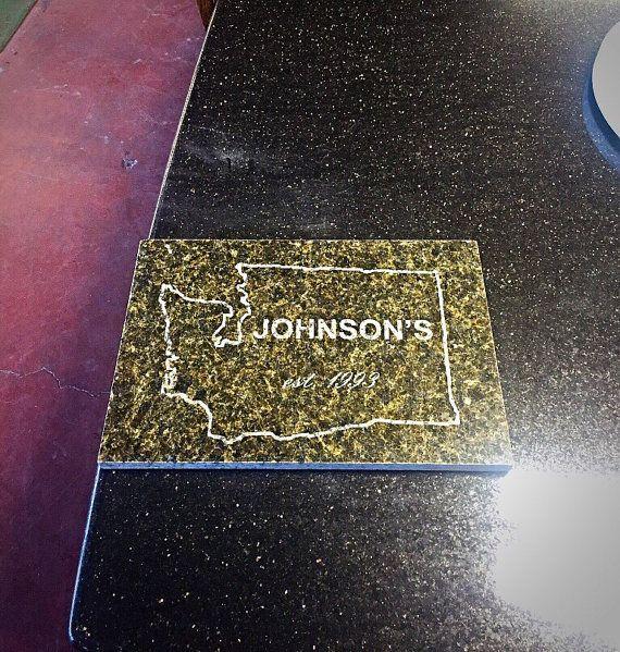 12x18 Custom Laser Engraved Granite By Zapslaser On Etsy Laser Engraving Engraving Laser