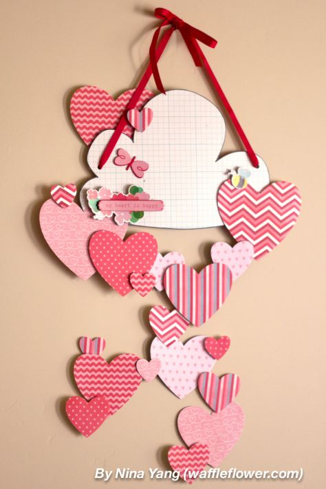 19 Easy Diy Paper Decorations For Valentine S Day Paper Decorations Diy Diy Valentine S Day Decorations Valentines Diy
