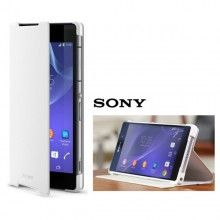 Etui Sony Xperia Z2 Cover Stand Origine Blanc  29,99 €
