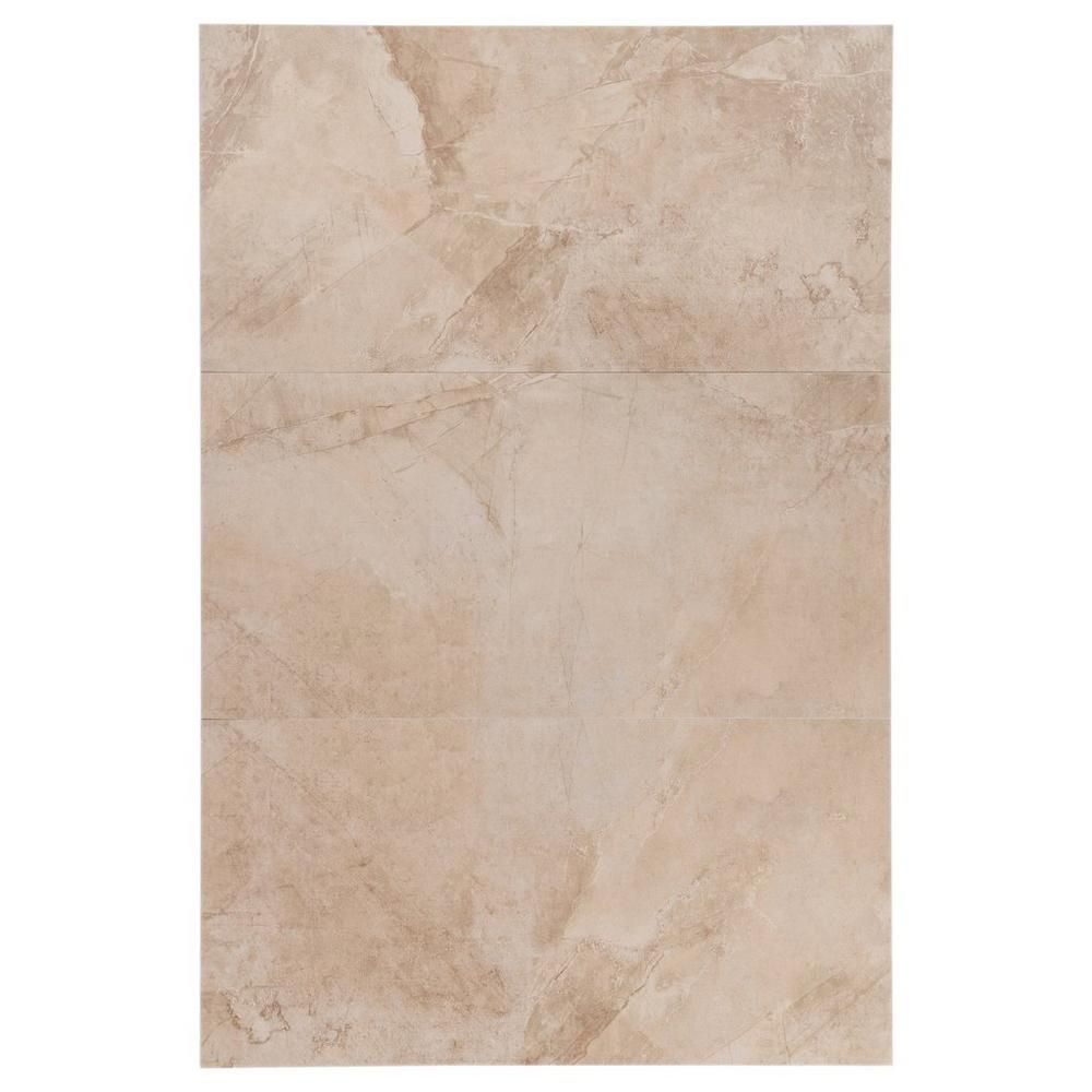Majestic Beige White Body Ceramic Tile 12in X 24in 100065531 Floor And Decor