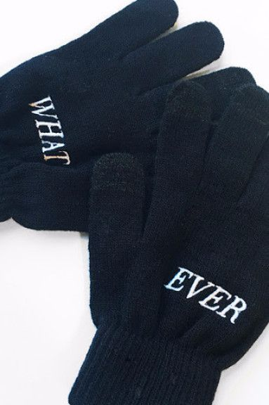 The Whatever Texting Gloves
