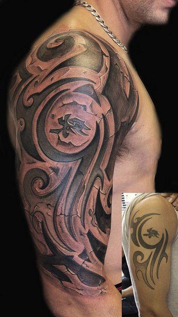 3d tribal tattoos tattoo's