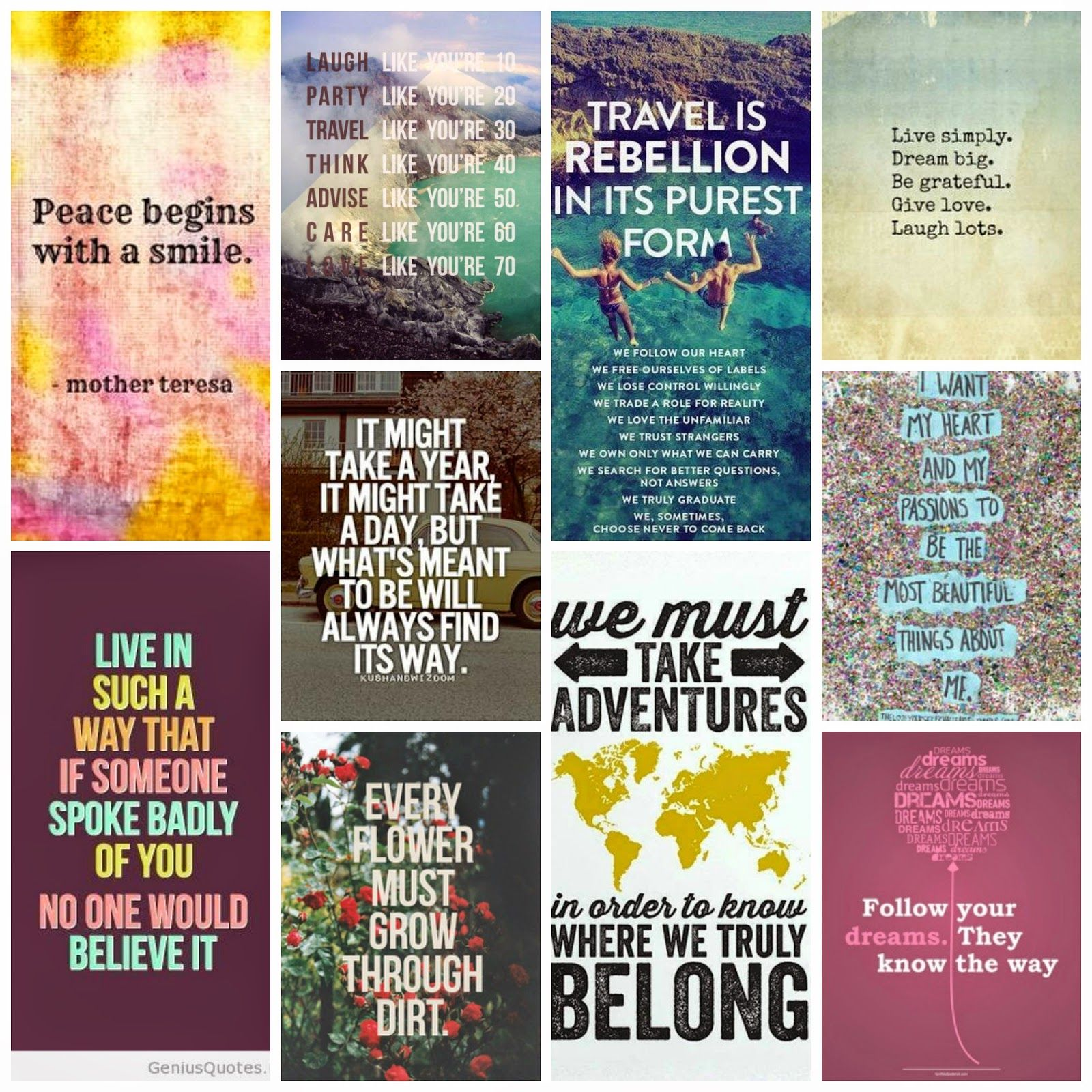 17 Best images about Quote Collage on Pinterest | Spotlight, Steve ...