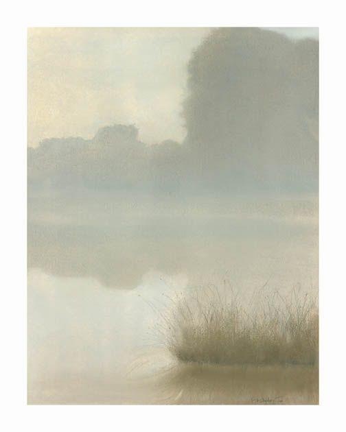 St. Clair Mist, Pastel, Sammy Sheler, artist