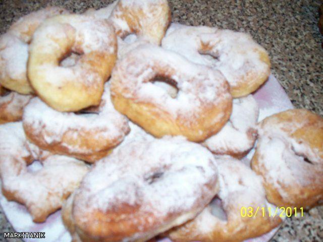 рецепт пончики к завтраку