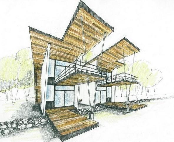 Dise ar mi propia casa mi visi n y valores pinterest sketches architecture and - Disenar mi propia casa ...