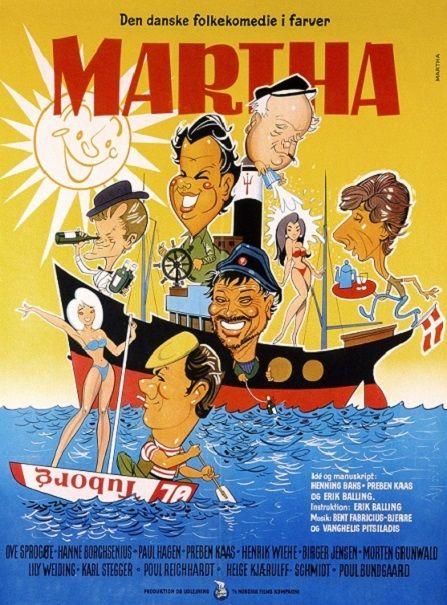 Martha Plakat Illustration Gamle Film Vintage Plakater