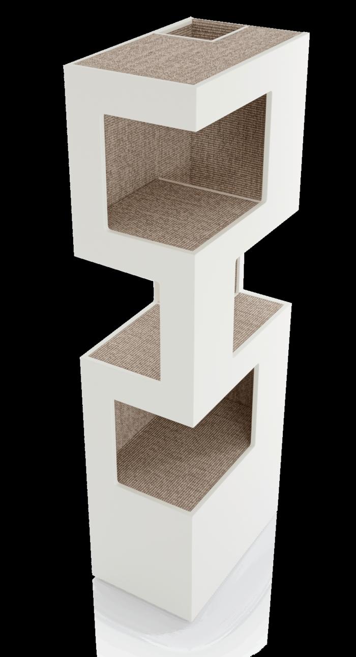 katzenbaum the one - cooles design und optimaler komfort   katzen