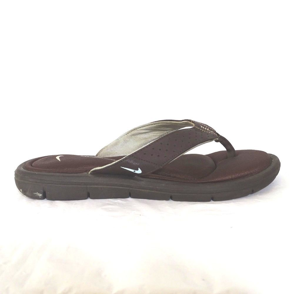 buy popular 3851c 4562f Nike Flip Flops Thong Sandals Comfort Footbed Women Size 8 ...
