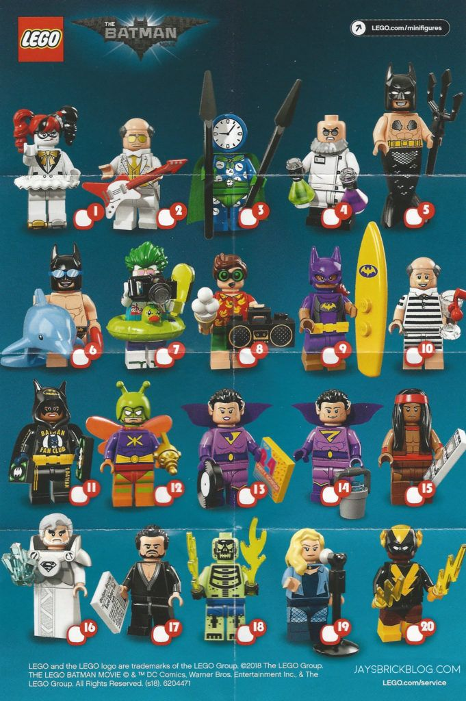 Review: LEGO Batman Movie Minifigures Series 2 | Things to ...