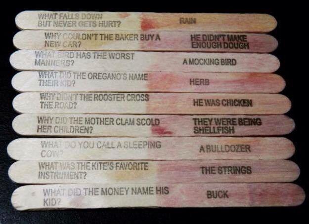 Jokes On Lolly Sticks Childhood Memories 70s 80s Food Instagram Food
