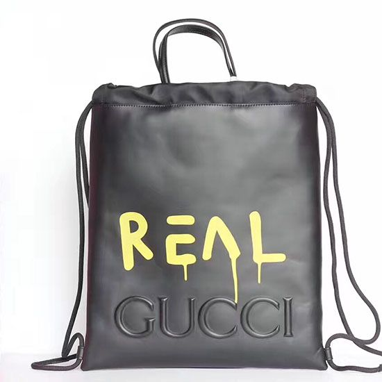 775cfb7d63a71f Gucci Guccighost Drawstring Backpack 474210   Gucci Bags ...