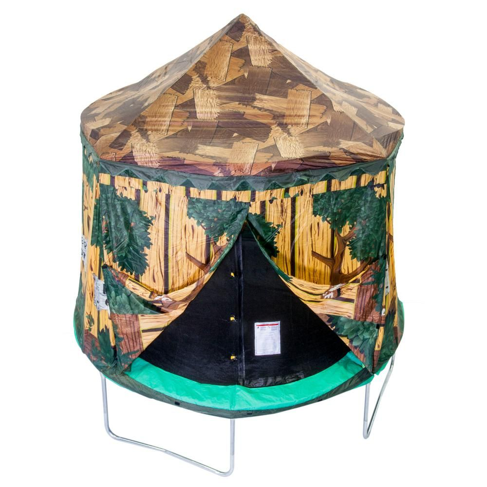10 ft. Tree House Enclosure Cover Trampoline tent