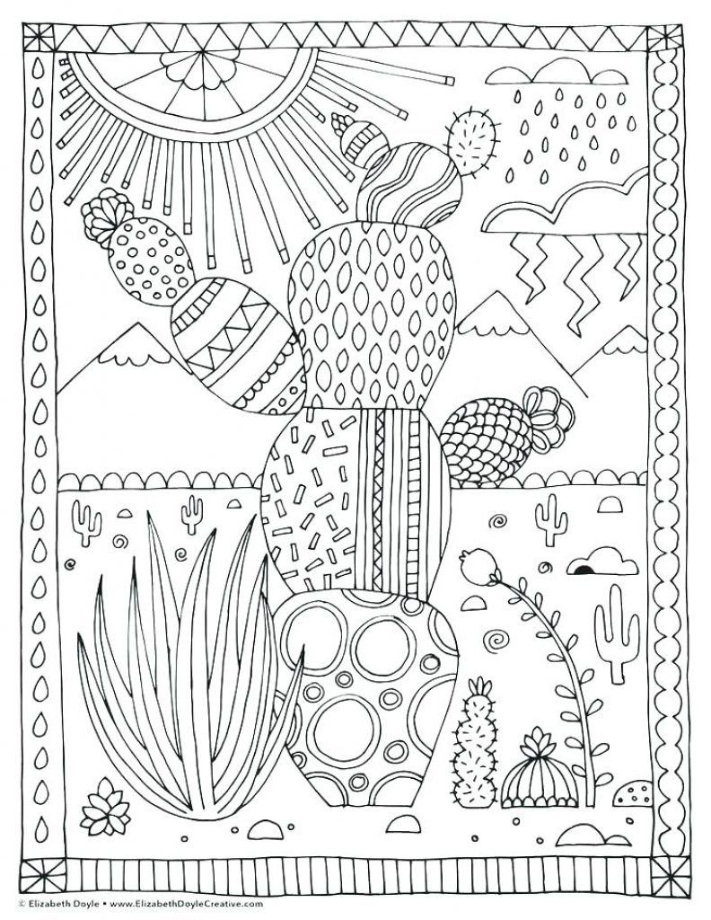 Succulent Coloring Pages Mandala Coloring Pages Coloring Pages