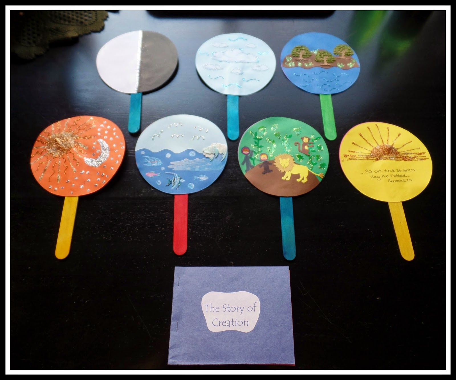 April's Homemaking: Simply Sunday School - Creation Story ...