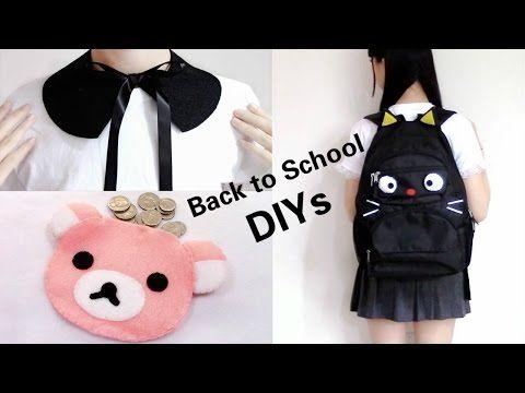 3f45133df5 3 Back to School DIYs  DIY Cat Backpack
