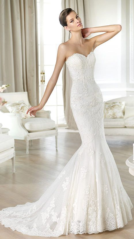 White One Wedding Dresses Barcelona