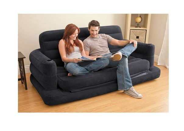 Phenomenal Intex Air Mattress Inflatable Sofa Beds Furniture With Easy Caraccident5 Cool Chair Designs And Ideas Caraccident5Info