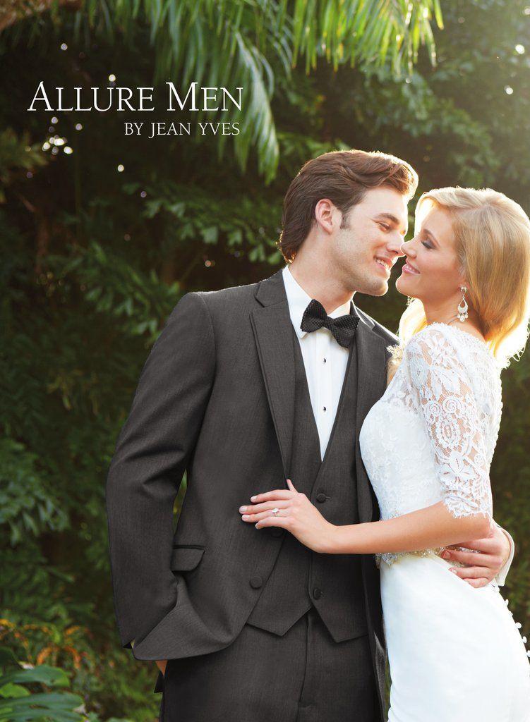 Allure: Steel Grey Bartlett Modern Fit Tuxedo