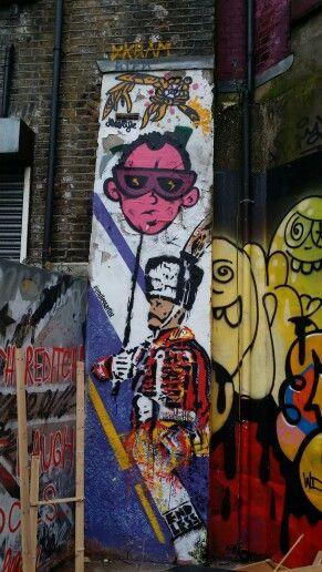 Shoreditch Graffiti: Energy Drinks, Energy Drink Can