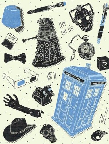 DOCTOR WHO VILLAINS 8 x 10 Color print  DR WHO series