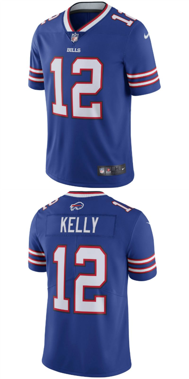 meet 2ebf9 221eb Jim Kelly Buffalo Bills Nike Retired Player Vapor ...