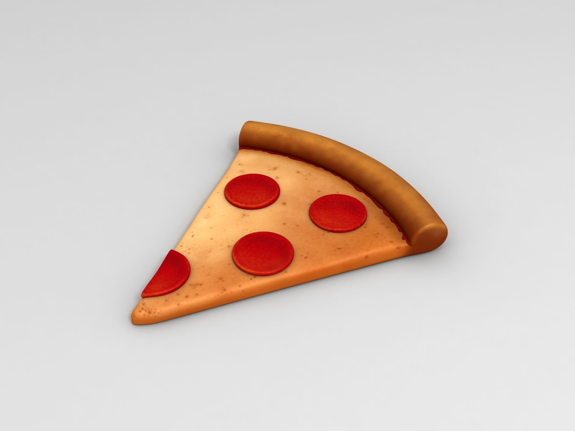 Pizza 3d Model Max Obj Fbx Mtl 1 Food Pack Food Cartoon Styles