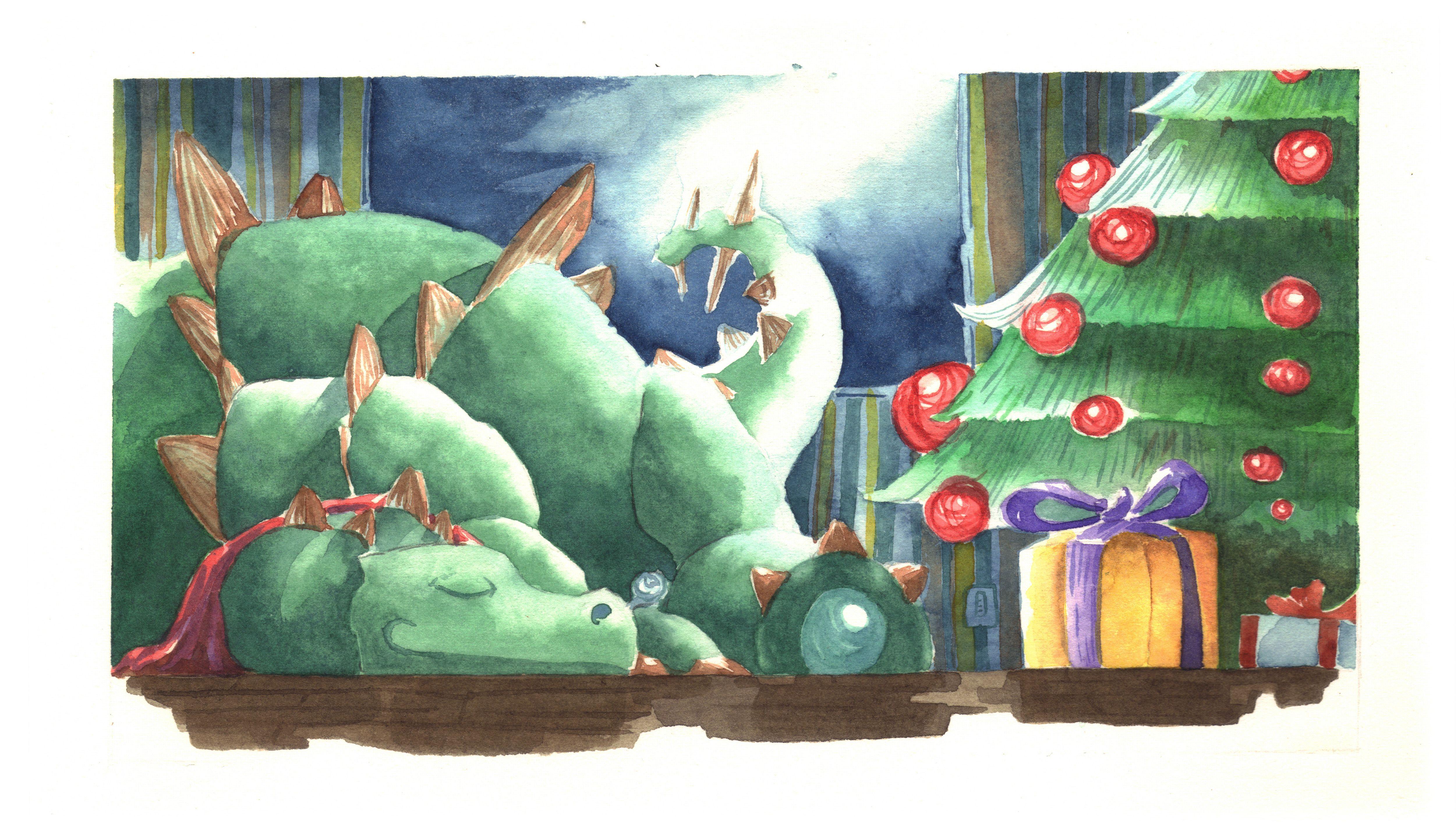 Dinosauri natalizi by Andrea Iusso