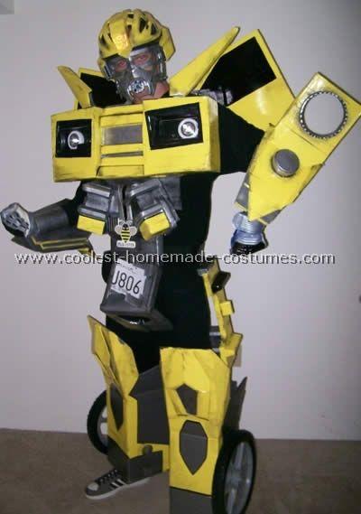 Bumblebee Transformers Halloween Costume & Coolest Ever Bumblebee Costume Ideas | Pinterest | Transformer ...