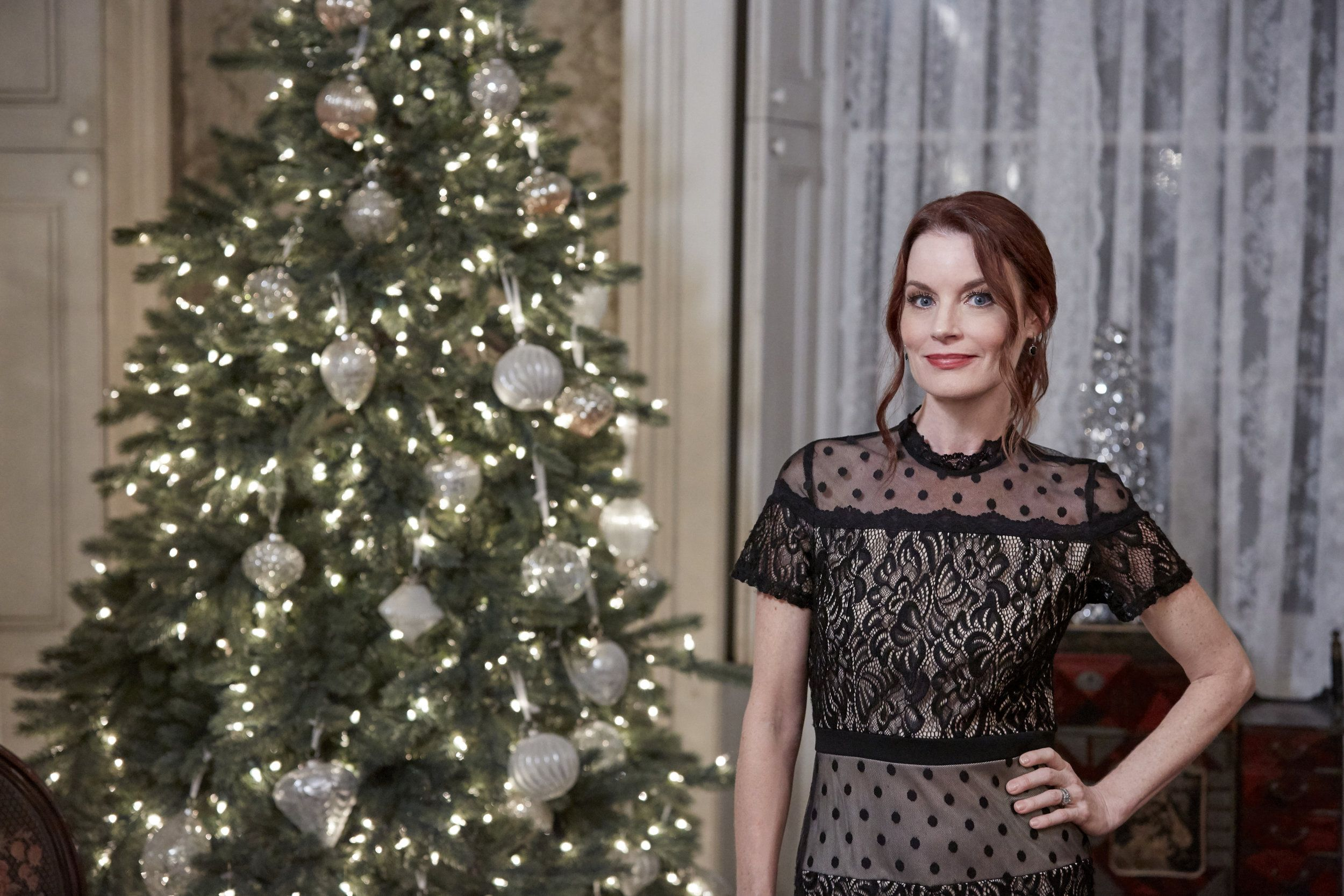 """Check out photos from the Hallmark Movies & Mysteries original movie """"Christmas on Honeysuckle ..."""