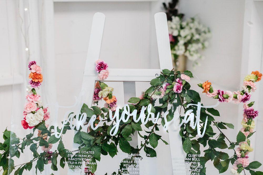 DIY Perspex Seating Planner Seating planner, Wedding