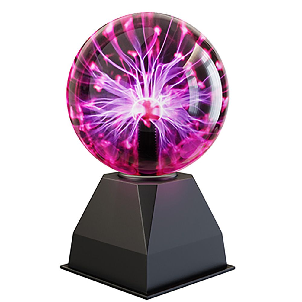 H80sq 6 Plasma Ball With Sound Sensor Novelty Lighting Plasma Sound