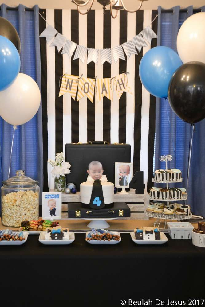Boss Baby Birthday Birthday Party Ideas Birthday Party