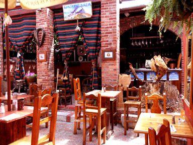 Arcos Mexican Restaurant Outdoor Patio