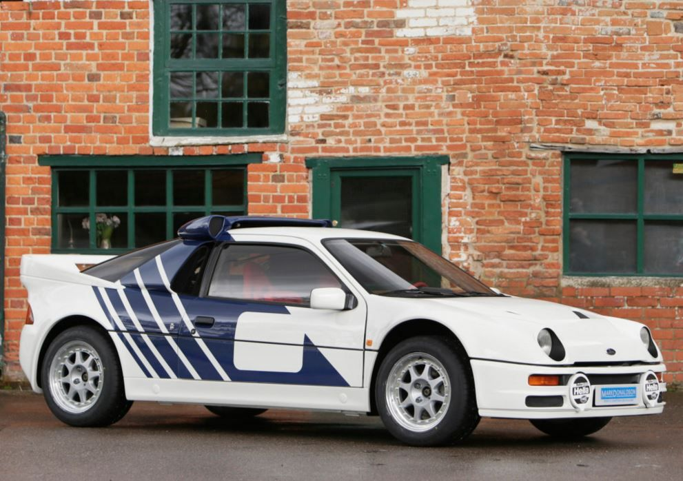 Homologation Spec W Group B Upgrades 12k Km 1986 Ford Rs200