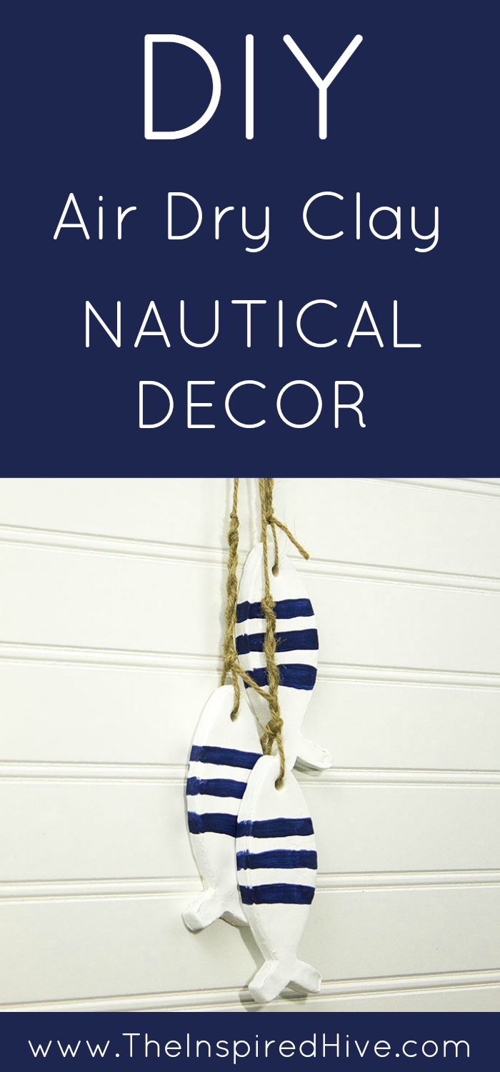 May Monthly Diy Challenge Air Dry Clay Nautical Decor Clay