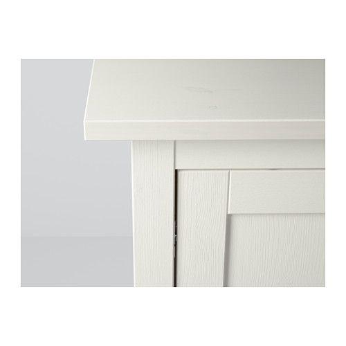 HEMNES Sideboard, white stain white stain 61 3/4x34 5/8