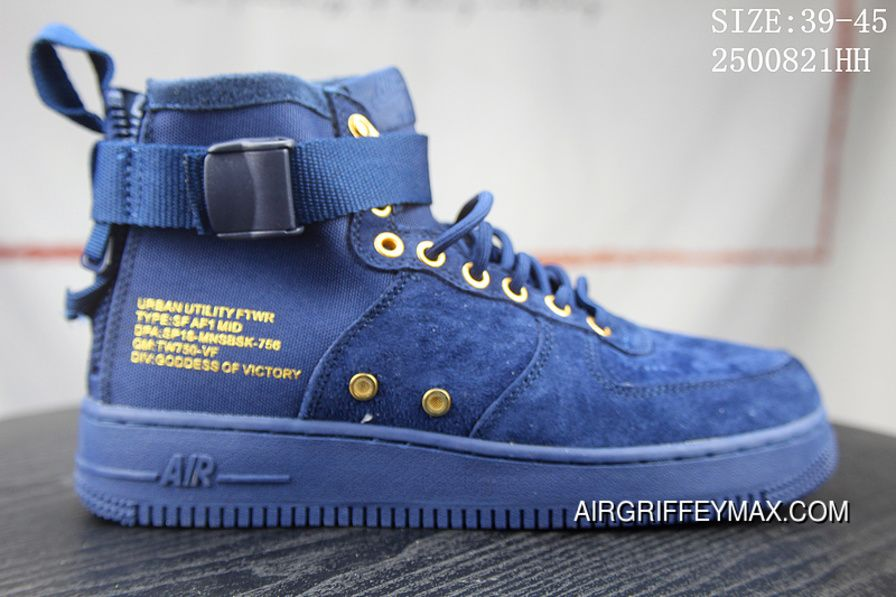 92e6c06cb4 4 Nike SF AF1 1917753 SIZE:39-45 919150 Nike Air Force One Blue Online