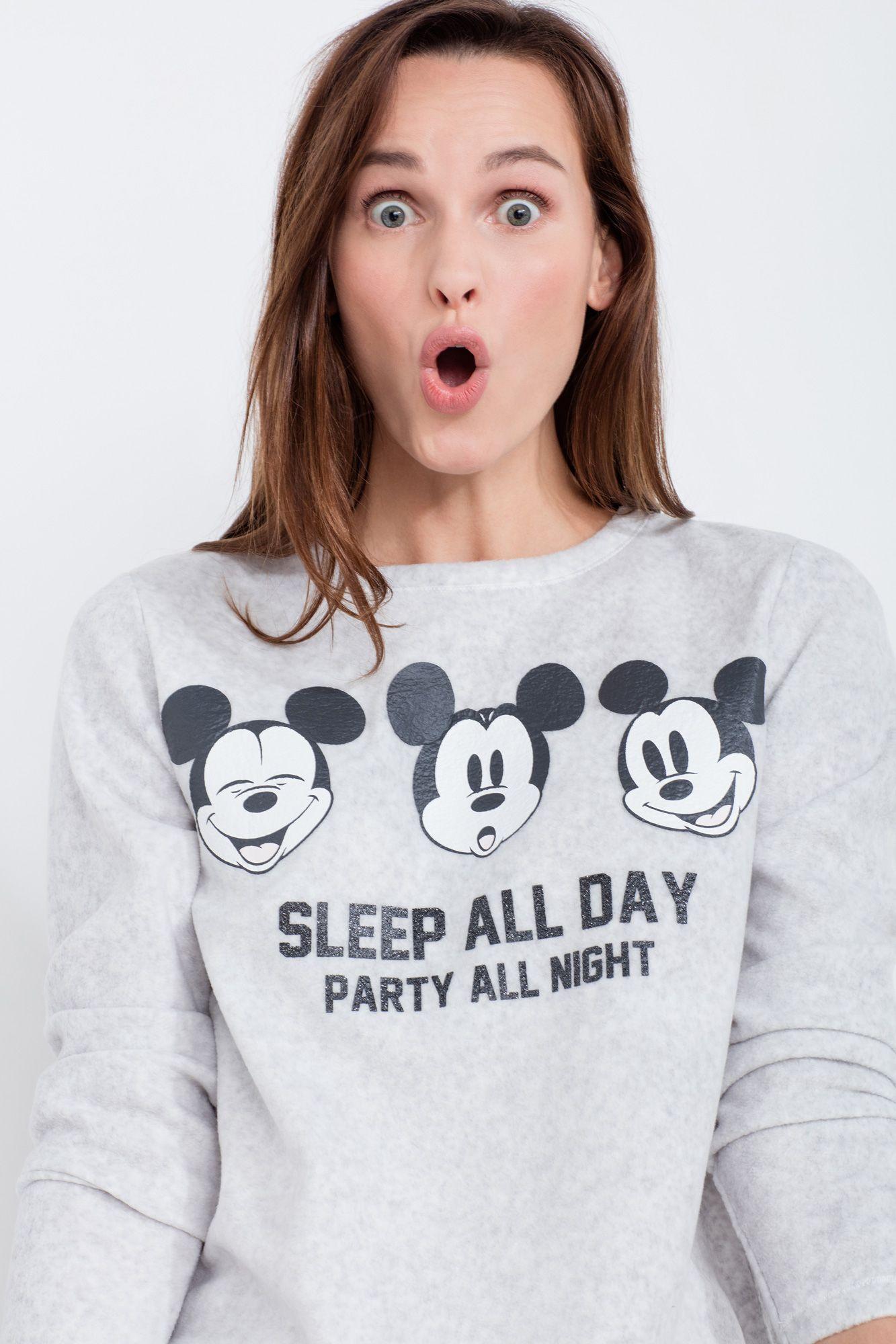 ca3d9019465ad5 Women´secret - Pijama largo polar 'Sleep all day, party all night ...