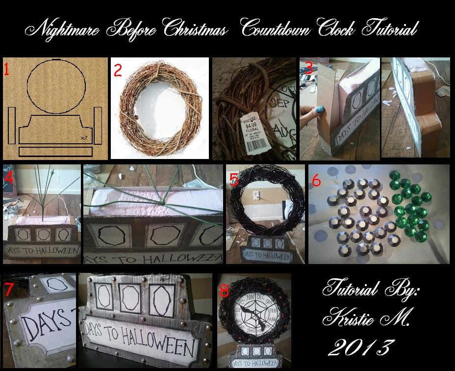 DIY Nightmare Before Christmas Halloween Props: Halloween Count ...